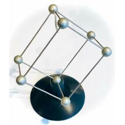 Scientific Vintage molecule educational model