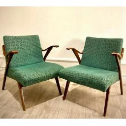 Pair of vintage armchairs from Tatra Pravenec, 1960s