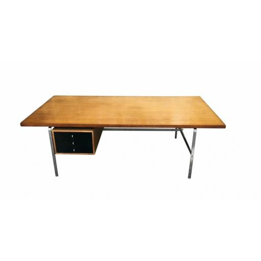Mid 20th century Kastholm and Fabricius executive desk rare Rosewood by Kill International