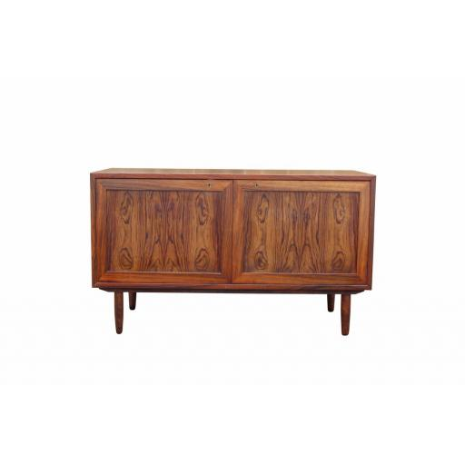 1960's Danish Rosewood Two Door Cabient / Sideboard -SOLD