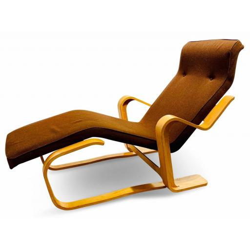 Marcel Breuer Bent Wood Long Chair by Isokon, 1960s