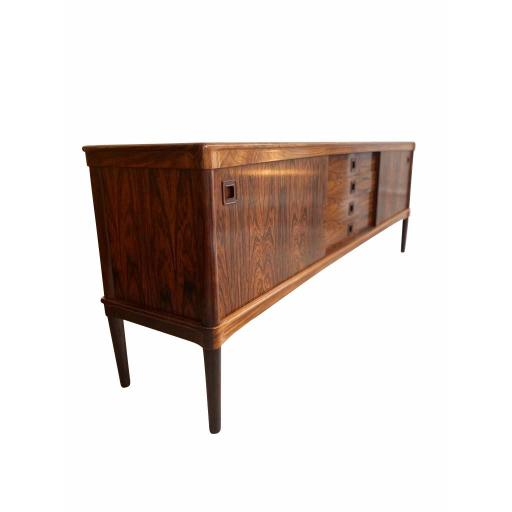 Mid-Century Rosewood Sideboard by H. W. Klein for Bramin