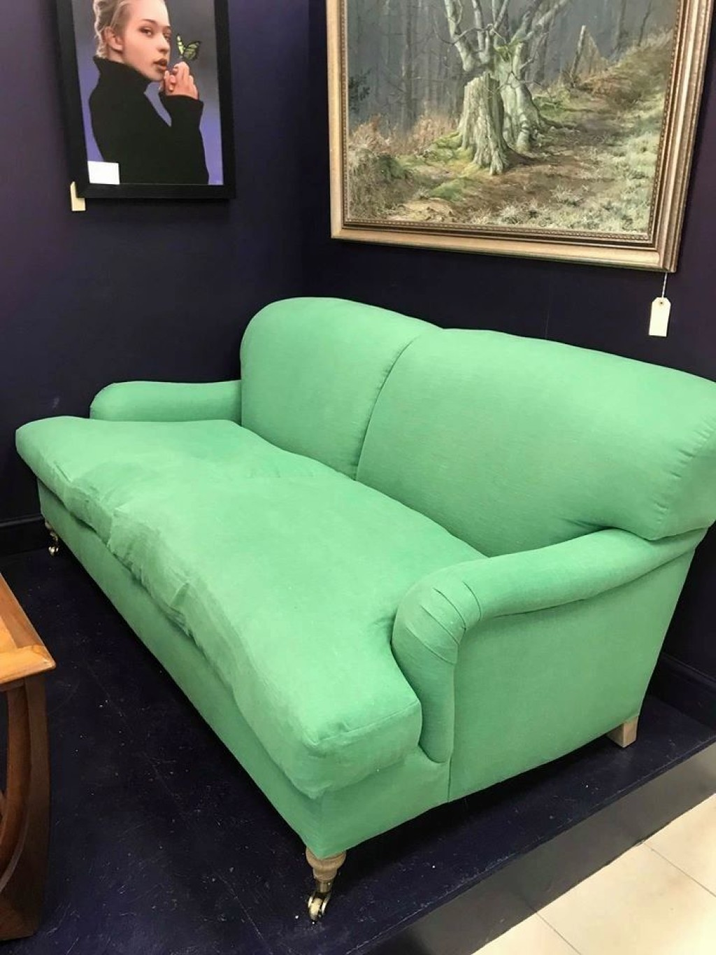 OUR BESPOKE HOWARD SOFA IS NOW IN STORE!