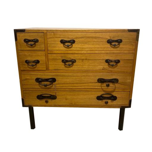 Pair of contemporary Elm Chest Of Drawers