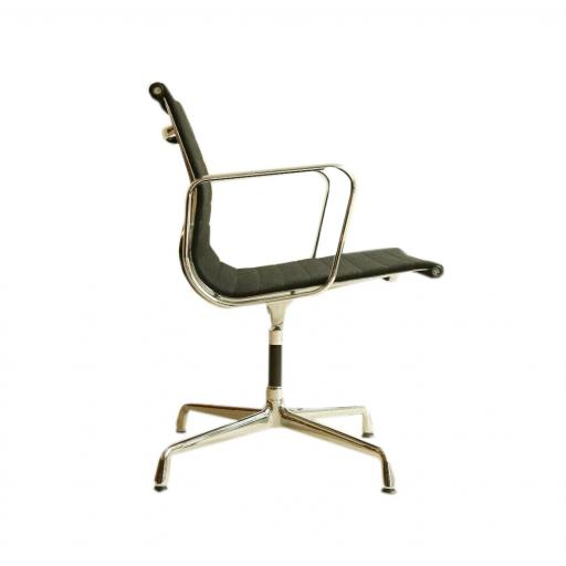 Eames Vitra Aluminium EA103 Office Chair Black Hopsack