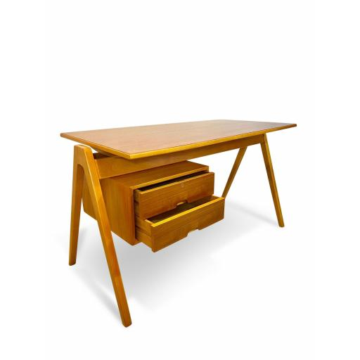 1950s Hillestak desk designed by Robin Day for Hille of London - SOLD