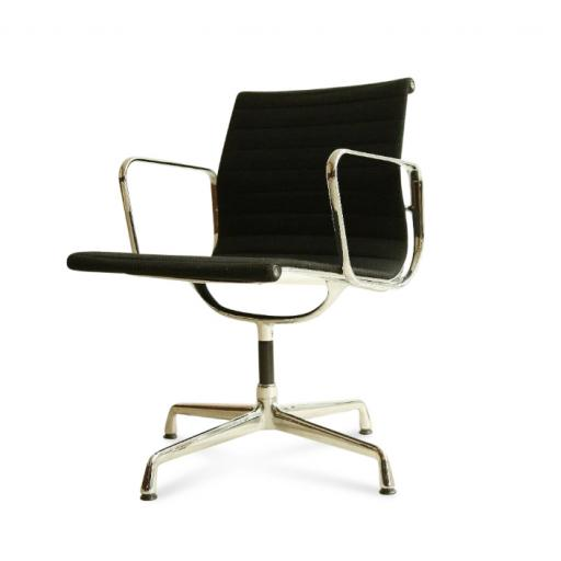 Eames Vitra Aluminium EA103 Office Chair Black Hopsack