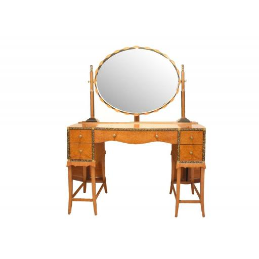 An Art Deco dressing table by Herbert Richter for Bath Cabinet Makers - SOLD