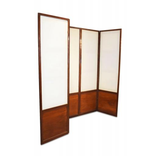 Antique Mahogany room divider / screen