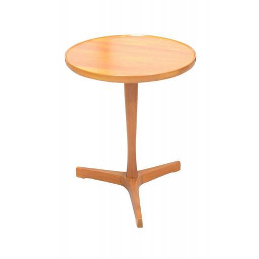 Pair of Pedestal Teak Side Tables by Hans Andersen for Artex, 1960s - SOLD