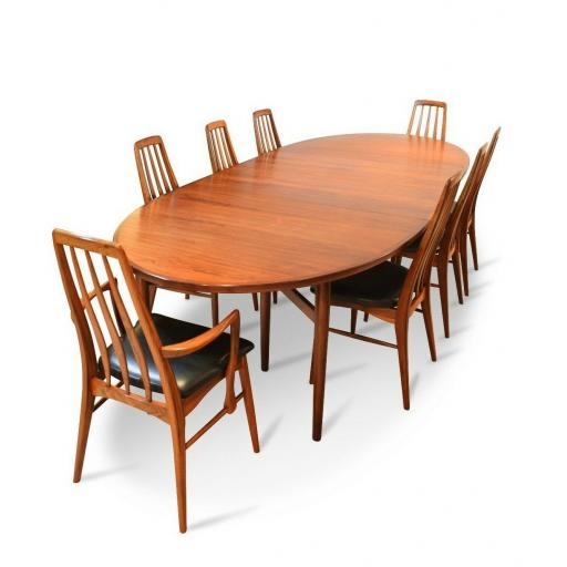 Arne Vodder Rosewood Dining / Conference Table Sibast Møbelfabrik in Denmark