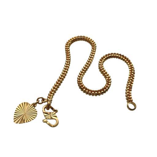 "22ct 916 Gold 7"" Bracelet"