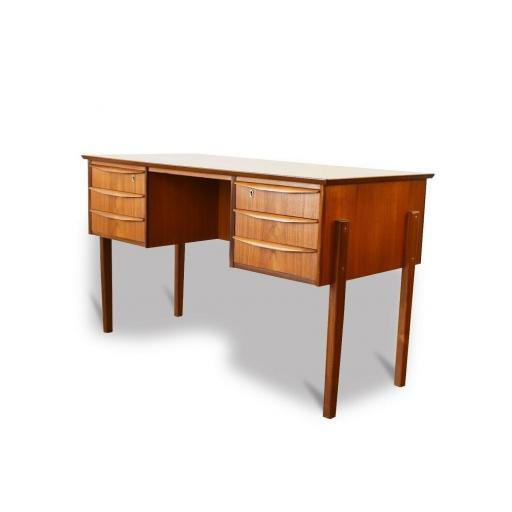 1960s Danish Teak wood desk