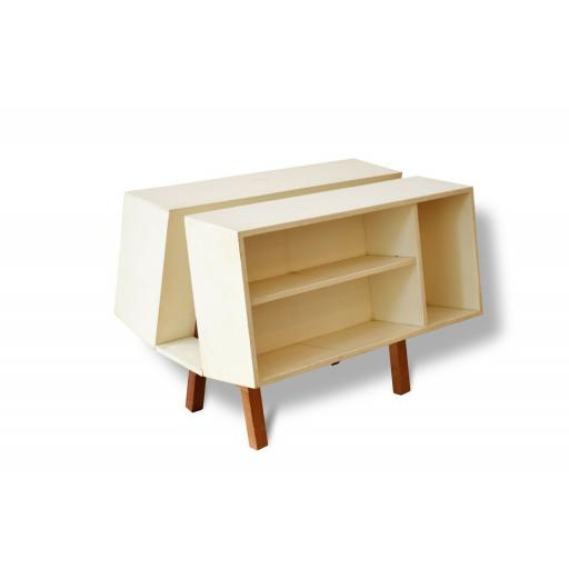 Penguin Donkey Bookcase by Ernest Race for Isokon
