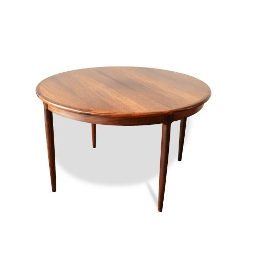 Vintage rosewood Niels Otto Moller extendable table - SOLD