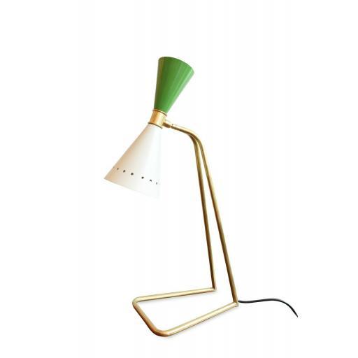 Stilnovo Italian Brass Desk Lamp