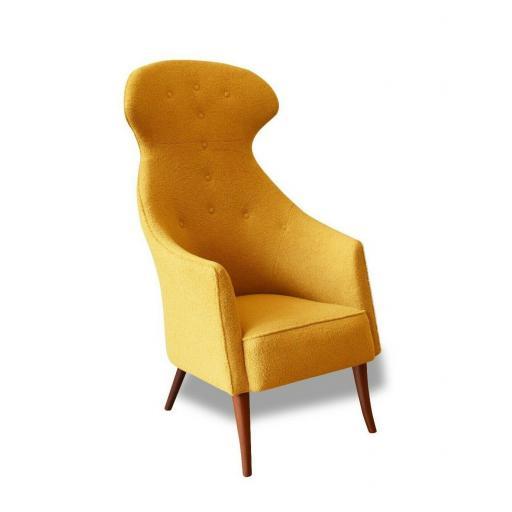 "An 'Eva' lounge chair ""Paradise"" by Kerstin H. Holmquist for Swedish Nordiska Ko"