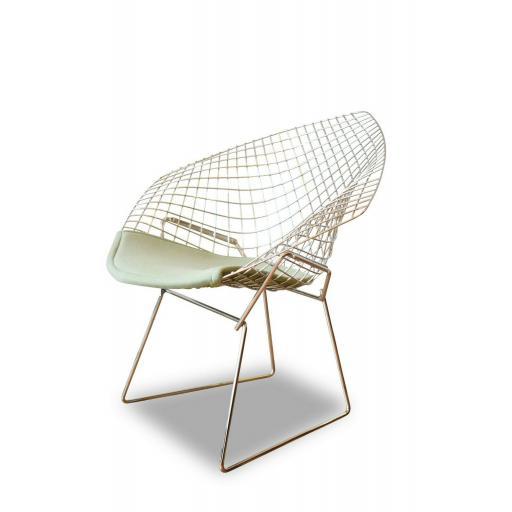 1950s Harry Bertoia Diamond Chair for Knoll International