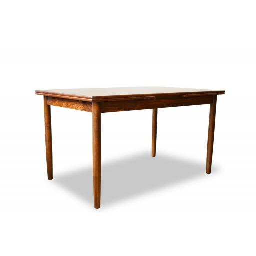 1960s Rosewood Danish Extendable Dining Table
